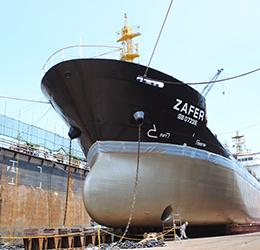 Zafer takes on new approach to maintain a clean hull
